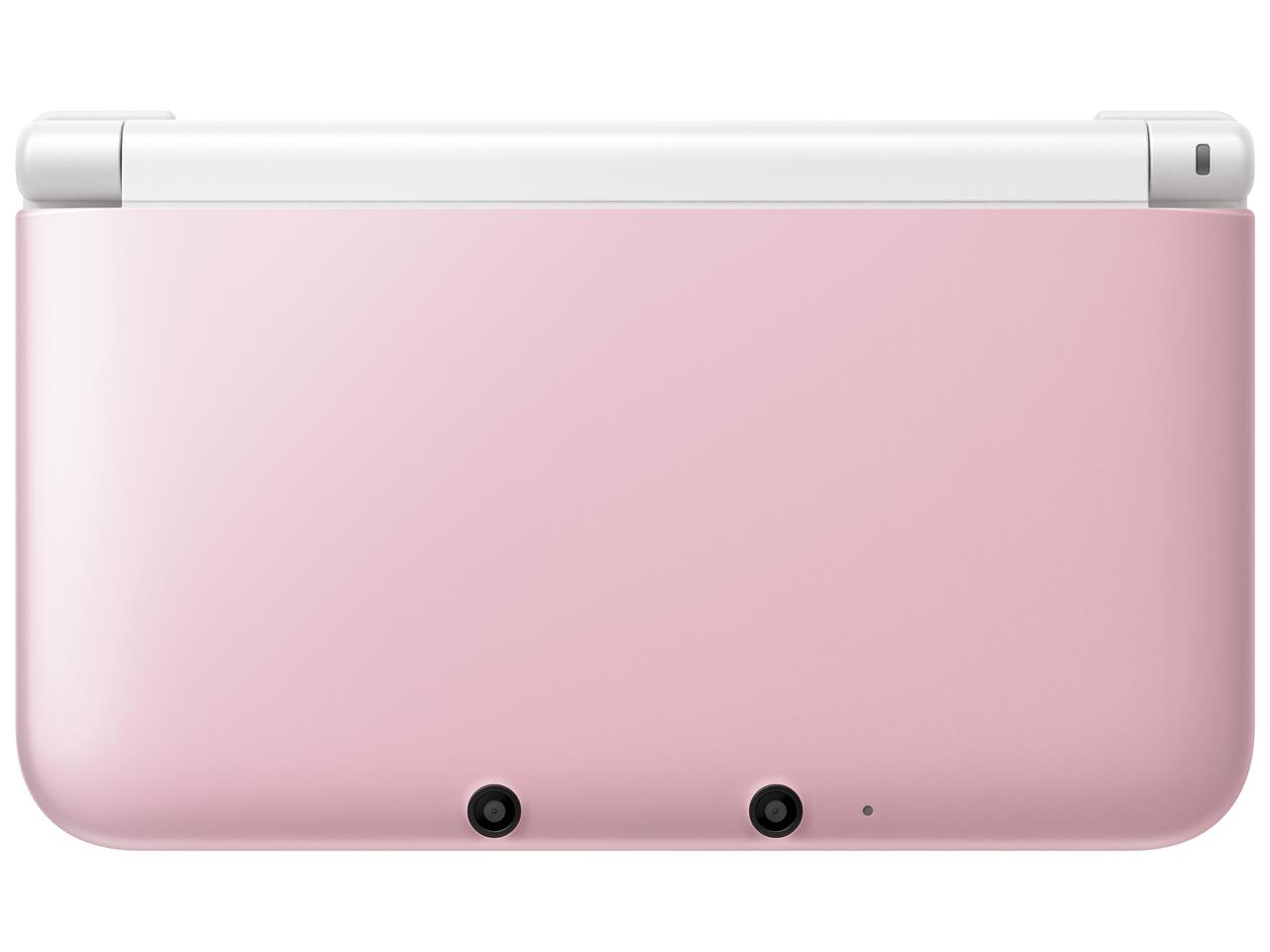 ニンテンドー3DS LL ピンク×ホワイト