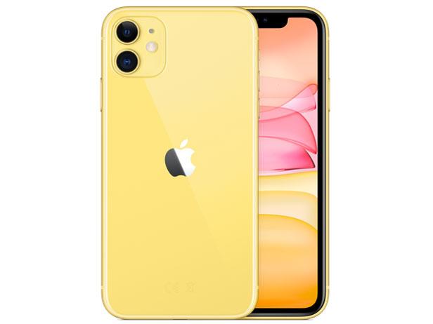 iPhone 11 128GB SIMフリー [イエロー] (SIMフリー)
