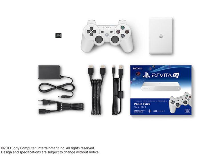PlayStation Vita TV (PS Vita TV) バリューパック VTE-1000 AA01 [ホワイト]