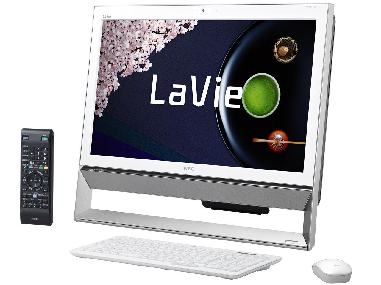 LaVie Desk All-in-one DA370/AAW PC-DA370AAW [ファインホワイト]