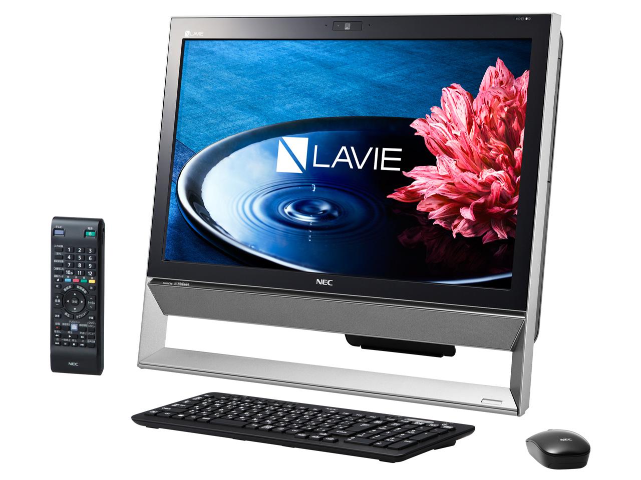 LAVIE Desk All-in-one DA370/BAB PC-DA370BAB [ファインブラック]