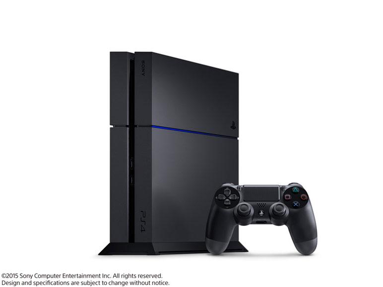 プレイステーション4 HDD 500GB ジェット・ブラック CUH-1200AB01