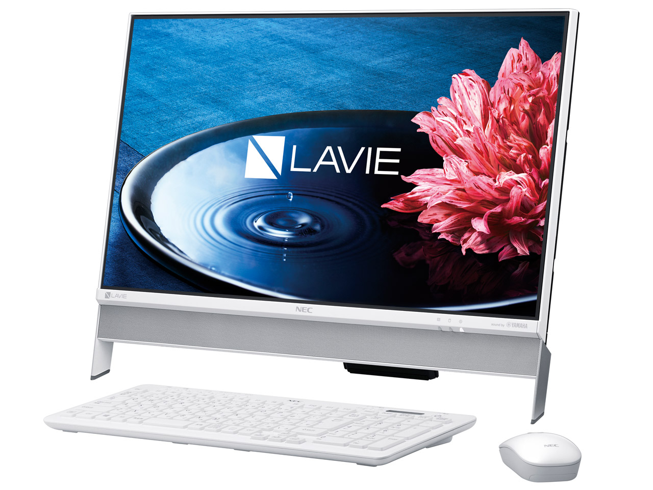 LAVIE Desk All-in-one DA350/EAW PC-DA350EAW