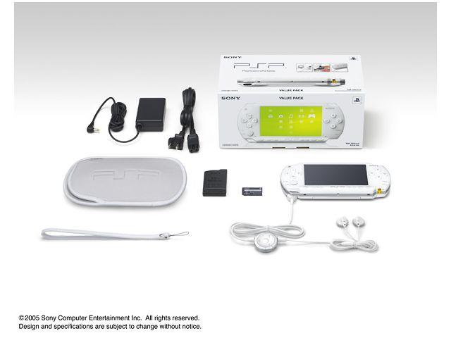 PSP バリューパック セラミック・ホワイト PSP-1000KCW