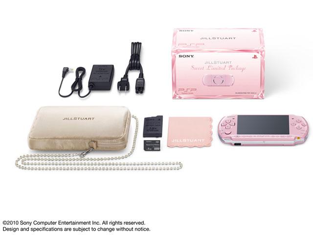 PSP プレイステーション・ポータブル JILLSTUART 「Sweet Limited Package」 ブロッサム・ピンク PSPJ-30015