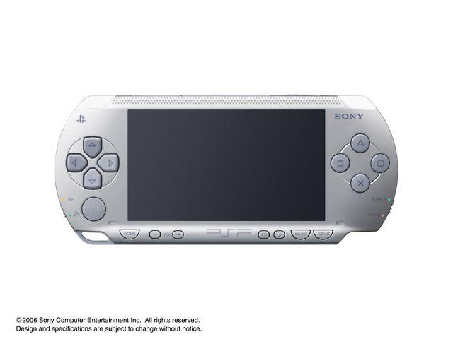 PSP プレイステーション・ポータブル シルバー PSP-1000 SV