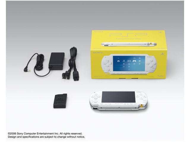 PSP プレイステーション・ポータブル セラミックホワイト PSP-1000CW