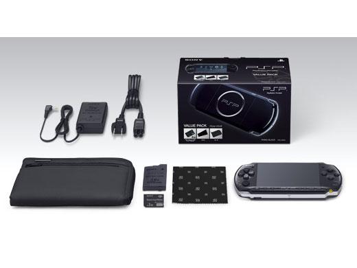 PSP プレイステーション・ポータブル バリューパック ピアノ・ブラック PSPJ-30023