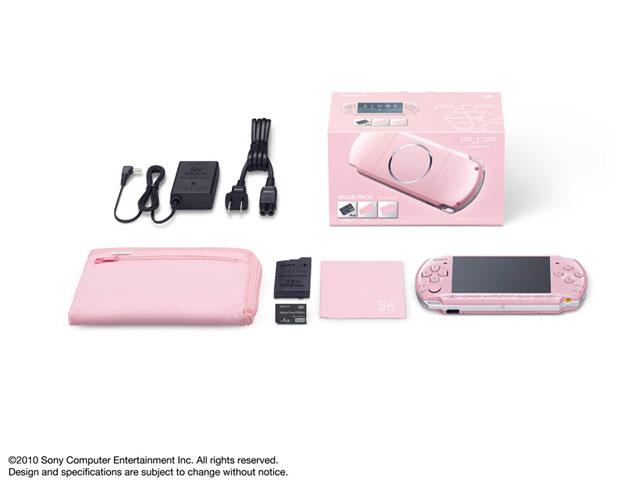 PSP プレイステーション・ポータブル バリューパック ブロッサム・ピンク PSPJ-30014