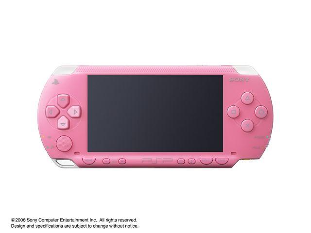 PSP プレイステーション・ポータブル ピンク PSP-1000 PK