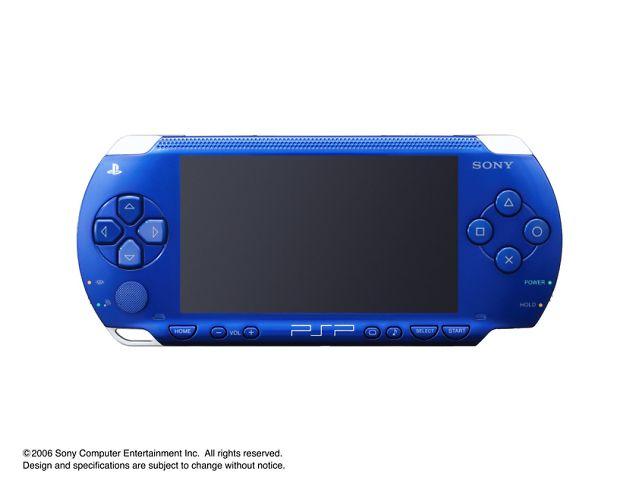 PSP プレイステーション・ポータブル メタリックブルー PSP-1000 MB