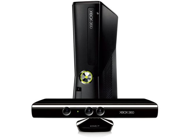 Xbox 360 4GB + Kinect
