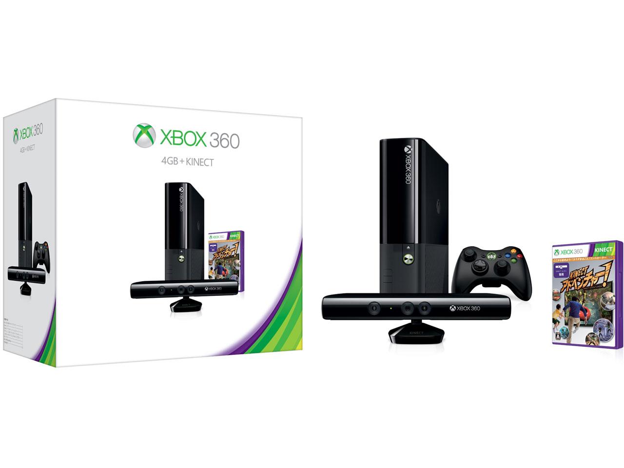 Xbox 360 4GB + Kinect [2013/09/19]
