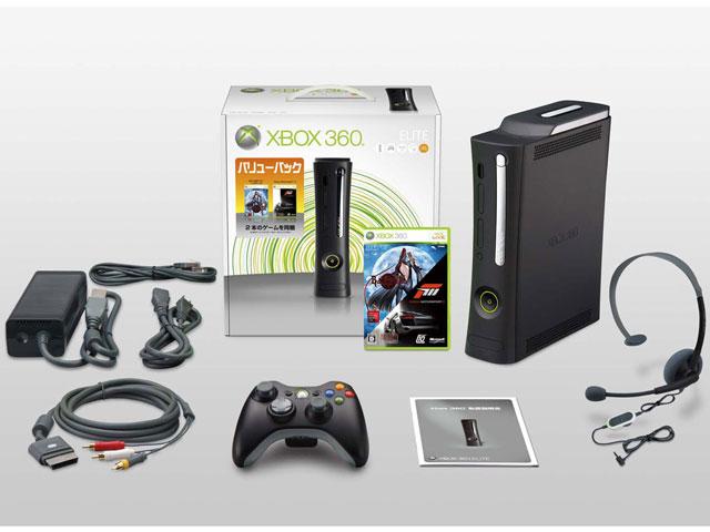 Xbox 360 エリート バリューパック (BAYONETTA/Forza Motorsport 3 同梱版)