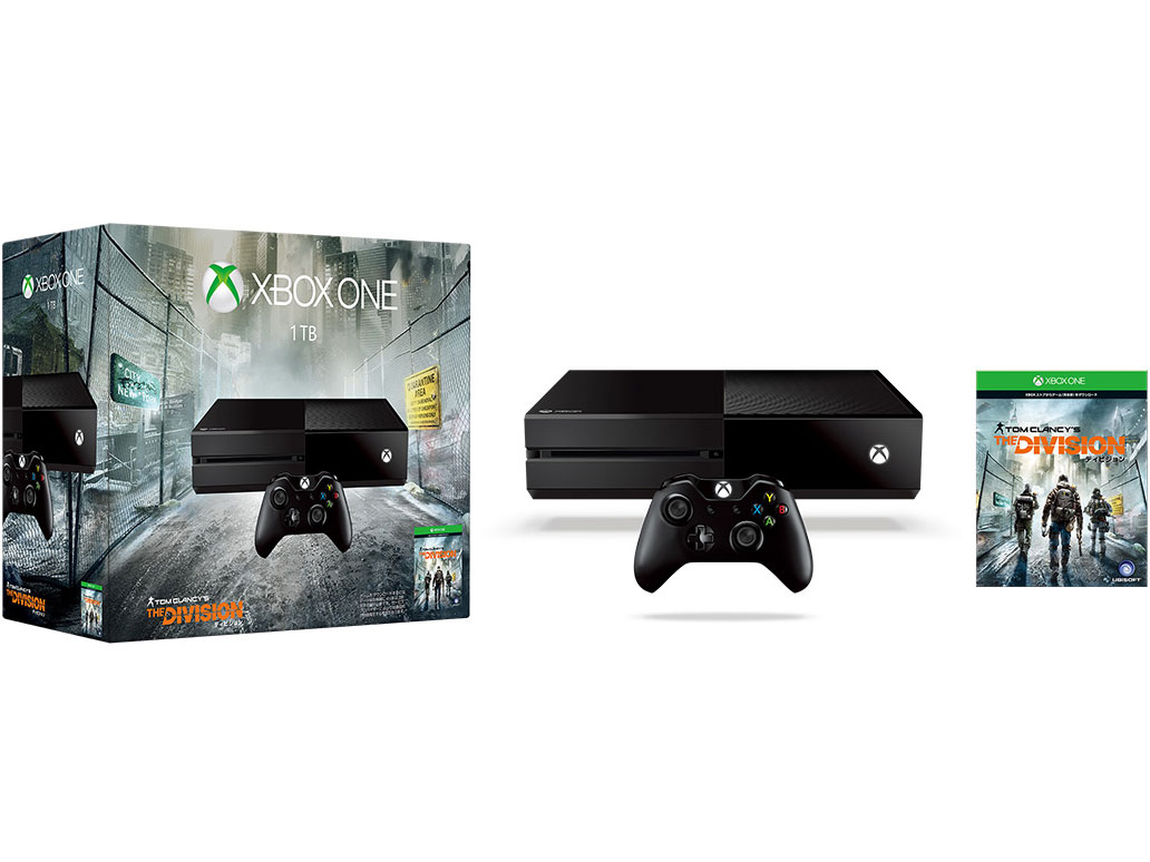 Xbox One 1TB (ディビジョン同梱版)