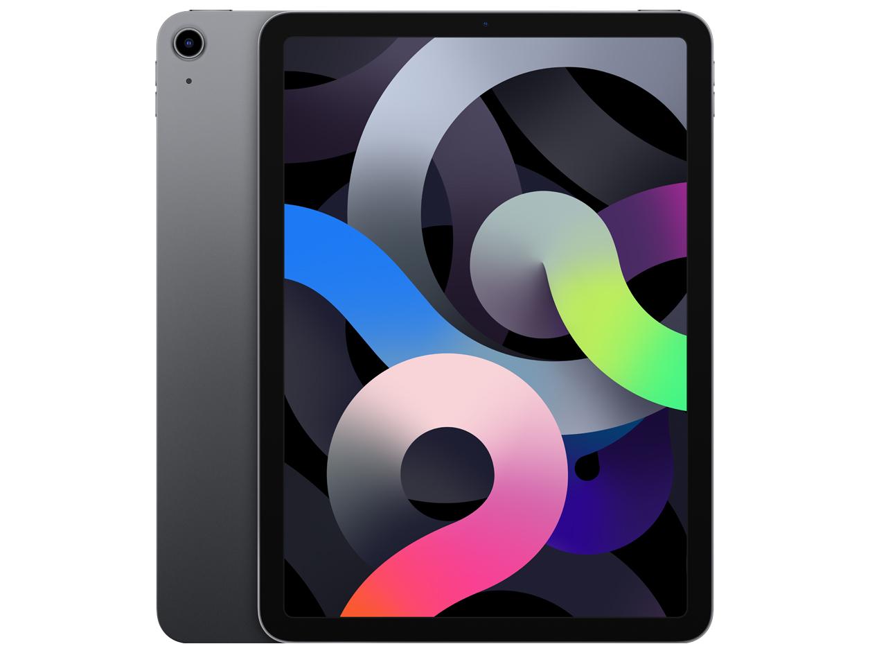 iPad Air 10.9インチ 第4世代 Wi-Fi 64GB 2020年秋モデル MYFM2J/A [スペースグレイ]