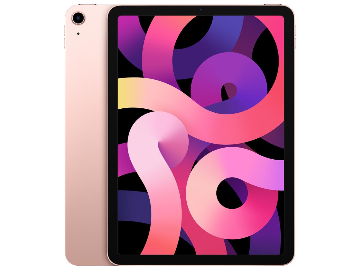 iPad Air 10.9インチ 第4世代 Wi-Fi+Cellular 64GB 2020年秋モデル docomo [ローズゴールド]