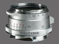 フォクトレンダー ULTRON vintage line 35mm F2 Aspherical Type II VM [シルバー]