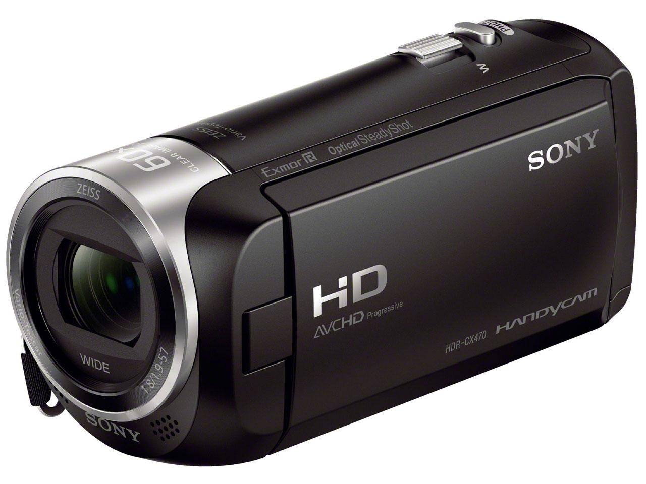 HDR-CX470 (B) [ブラック]