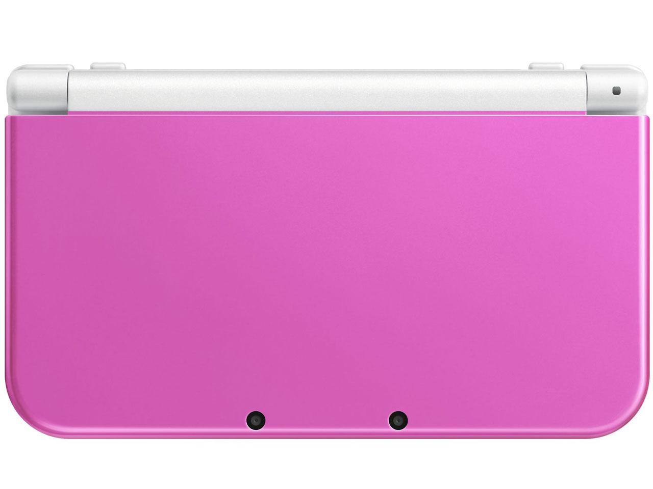 Newニンテンドー3DS LL ピンク×ホワイト