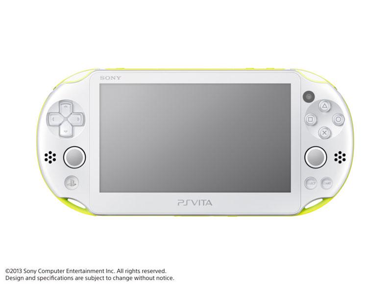 PlayStation Vita (プレイステーション ヴィータ) Wi-Fiモデル PCH-2000 ZA13 [ライムグリーン/ホワイト]