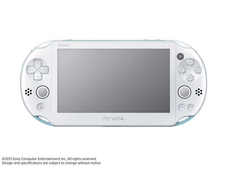 PlayStation Vita (プレイステーション ヴィータ) Wi-Fiモデル PCH-2000 ZA14 [ライトブルー/ホワイト]