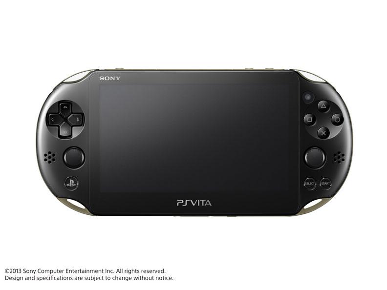 PlayStation Vita (プレイステーション ヴィータ) Wi-Fiモデル PCH-2000 ZA16 [カーキ/ブラック]