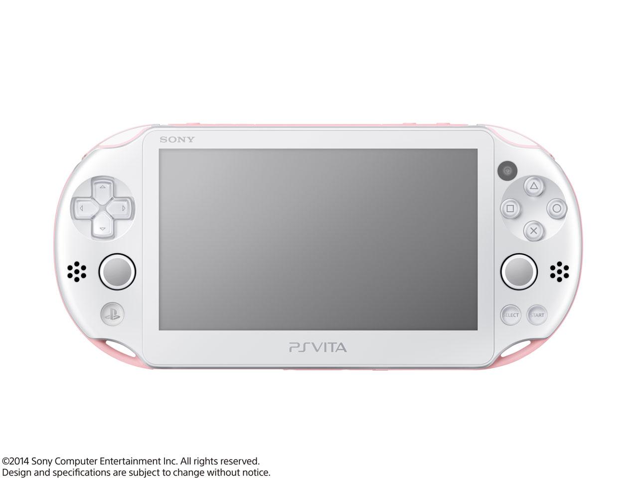 PlayStation Vita (プレイステーション ヴィータ) Wi-Fiモデル PCH-2000 ZA19 [ライトピンク/ホワイト]