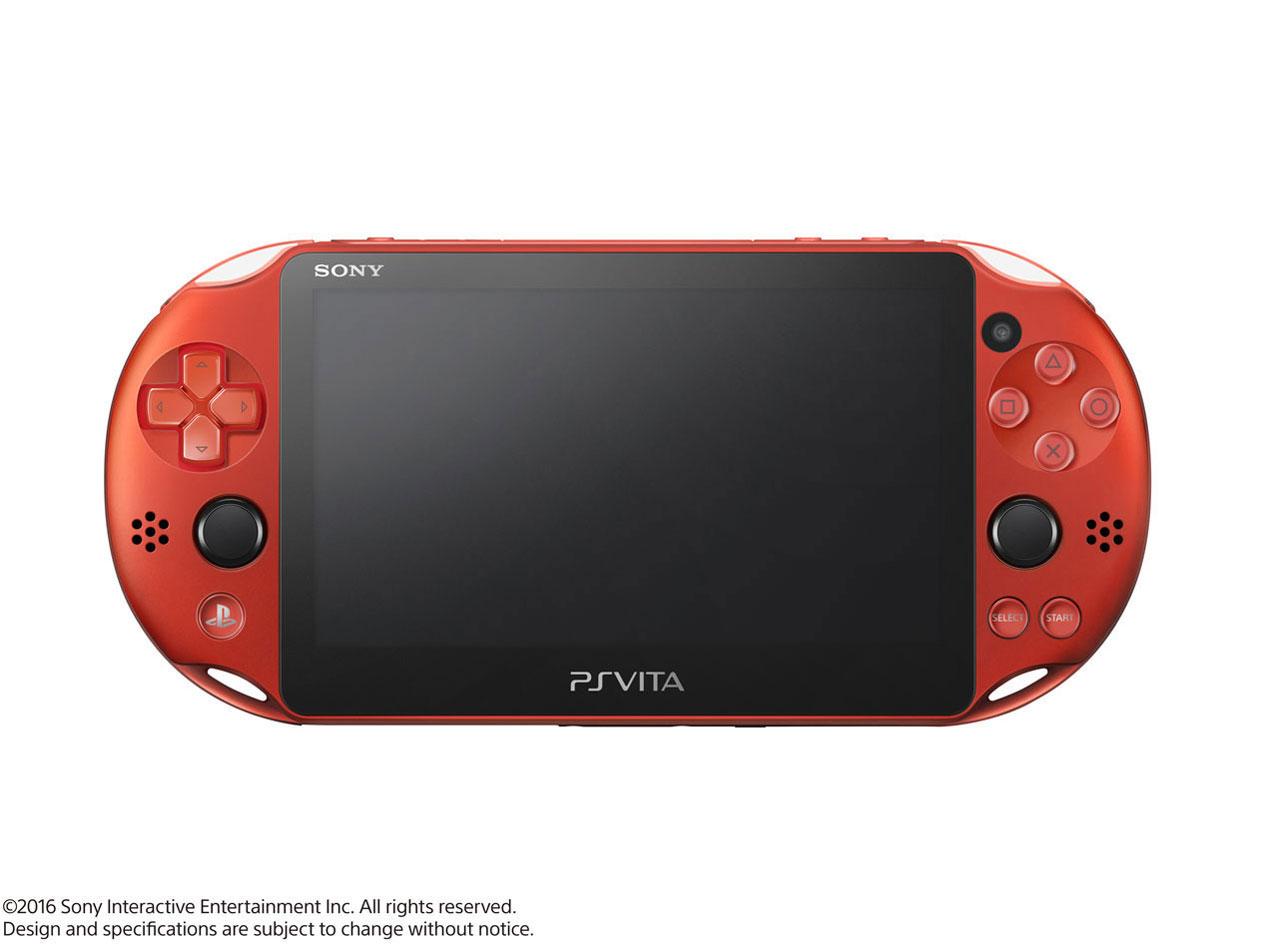 PlayStation Vita (プレイステーション ヴィータ) Wi-Fiモデル PCH-2000 ZA26 [メタリック・レッド]