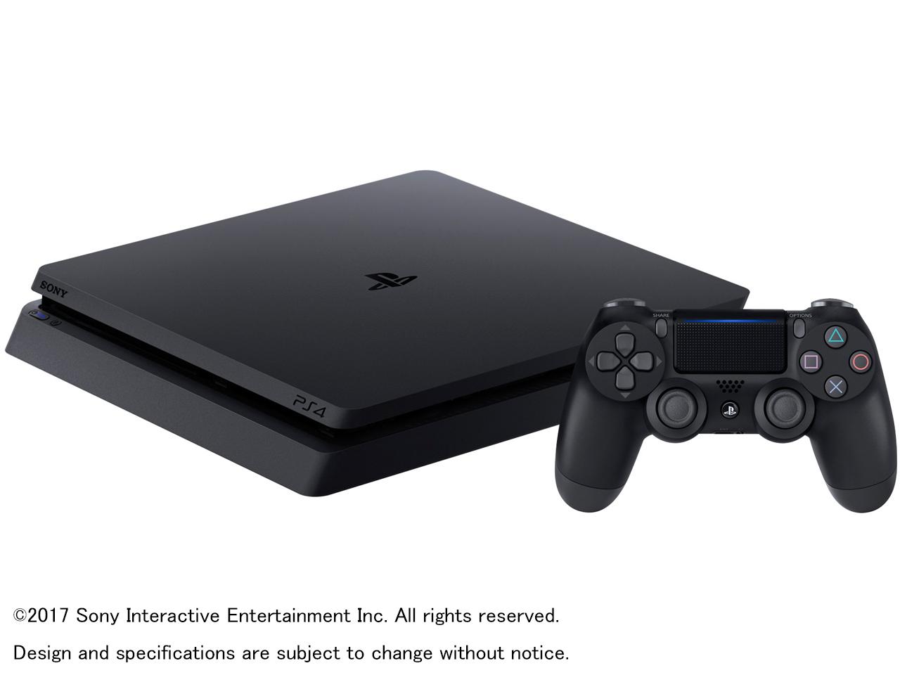 プレイステーション4 HDD 500GB ジェット・ブラック CUH-2100AB01