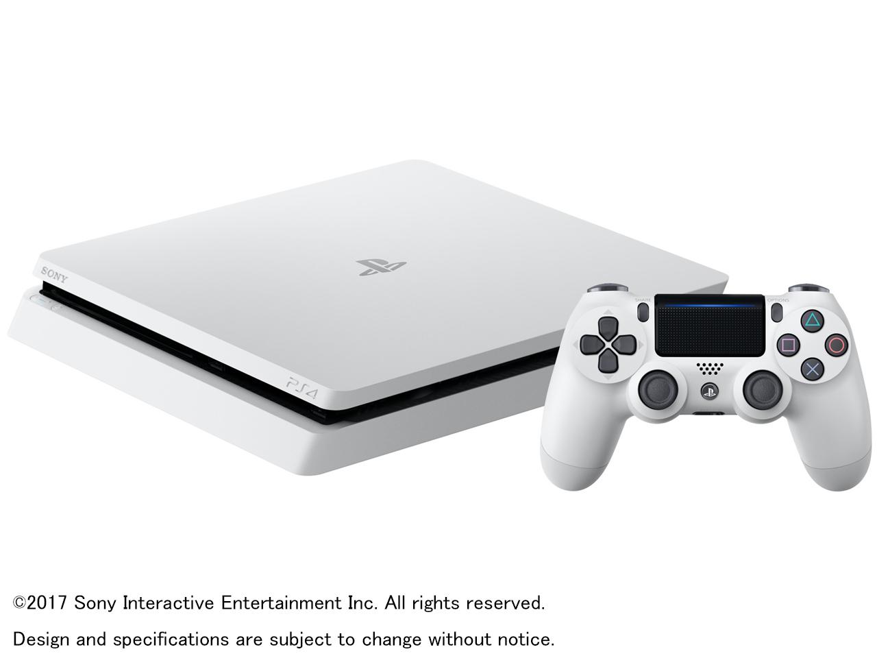 プレイステーション4 HDD 1TB グレイシャー・ホワイト CUH-2100BB02