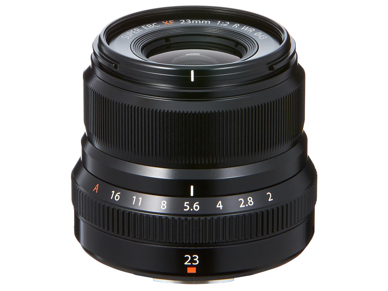 フジノンレンズ XF23mmF2 R WR [ブラック]