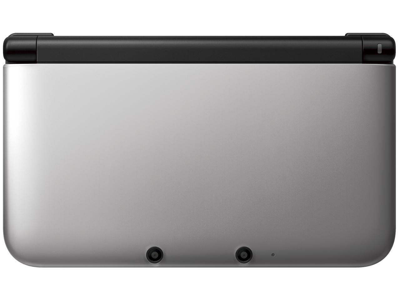 ニンテンドー3DS LL シルバー×ブラック