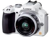 LUMIX DMC-G5X-W 電動ズームレンズキット [シェルホワイト]