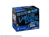 PlayStation Vita (プレイステーション ヴィータ) Value Pack Wi-Fiモデル (PCH-2000シリーズ) PCHJ-10022 [ブルー/ブラック]