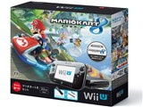 Wii U すぐに遊べる マリオカート8セット kuro