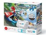 Wii U すぐに遊べる マリオカート8セット shiro