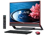LAVIE Desk All-in-one DA770/EAR PC-DA770EAR [クランベリーレッド]