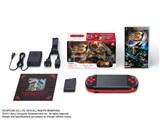 PSP プレイステーション・ポータブル 新米ハンターズパック ブラック/レッド PSPJ-30020