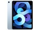 iPad Air 10.9インチ 第4世代 Wi-Fi+Cellular 64GB 2020年秋モデル MYH02J/A SIMフリー [スカイブルー]