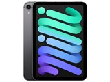 iPad mini 8.3インチ 第6世代 Wi-Fi+Cellular 256GB 2021年秋モデル MK8F3J/A SIMフリー [スペースグレイ]