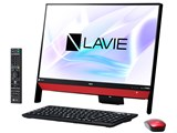 LAVIE Desk All-in-one DA370/KAR PC-DA370KAR [ラズベリーレッド]