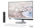 LAVIE Desk All-in-one DA770/GAW PC-DA770GAW [ファインホワイト]