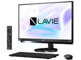 LAVIE Desk All-in-one DA770/HAB PC-DA770HAB [ファインブラック]