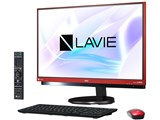 LAVIE Desk All-in-one DA770/HAR PC-DA770HAR [ラズベリーレッド]